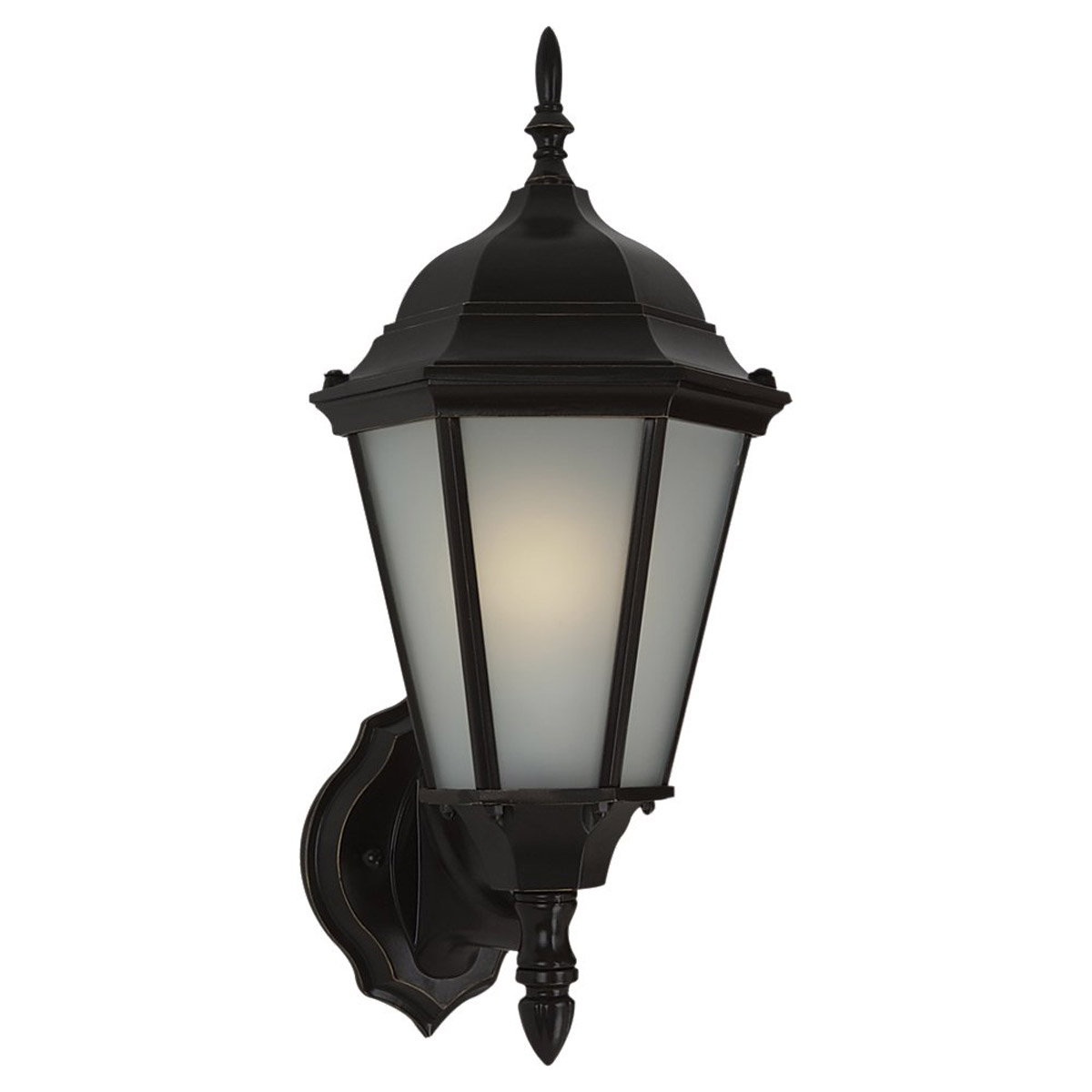 Sea Gull Lighting Bakersville 1 Light Outdoor Wall Lantern in Heirloom Bronze 88941BL-782