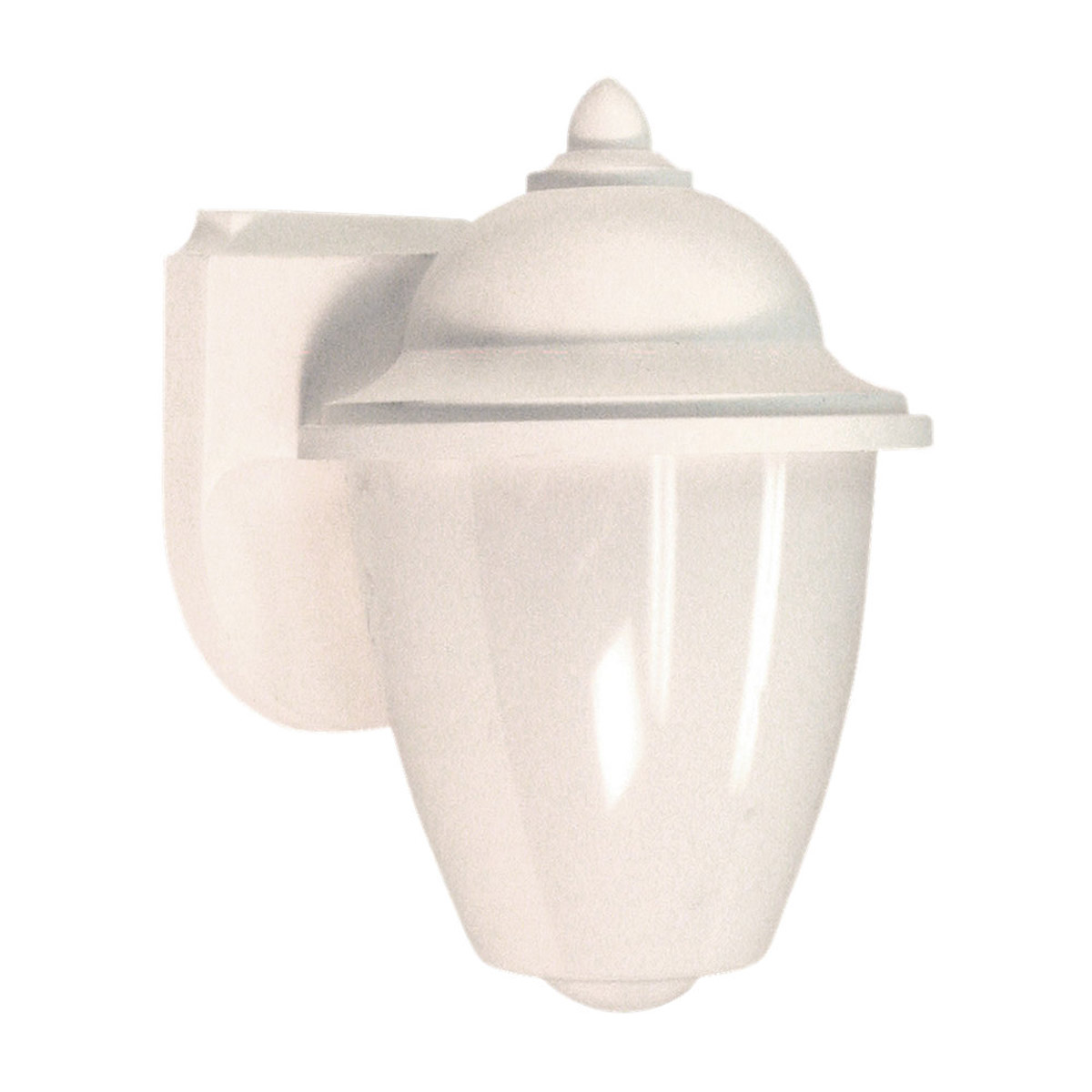 Sea Gull Lighting Lormont 1 Light Outdoor Wall Lantern in White 89018PBLE-15