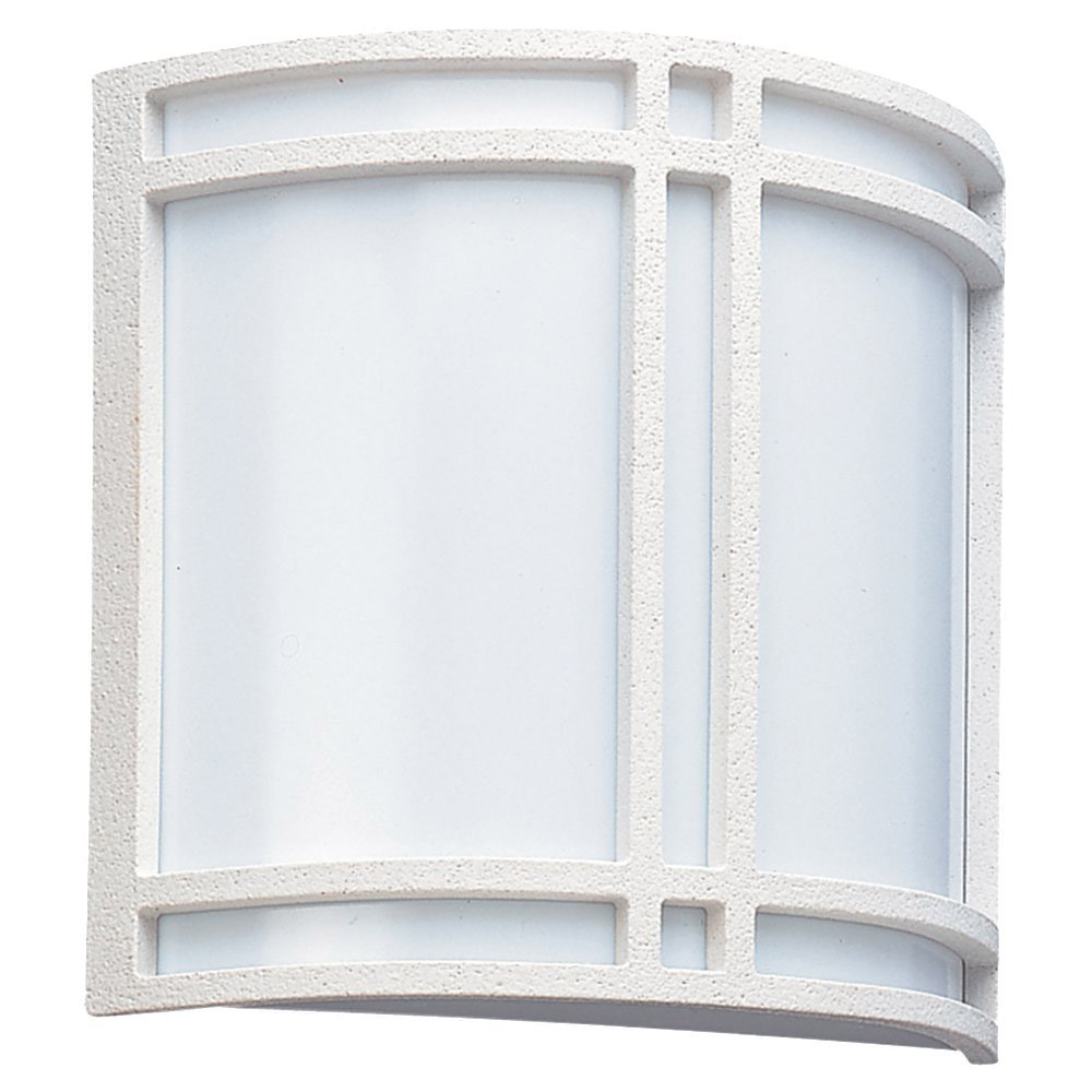 Sea Gull Lighting Piedmont 2 Light Outdoor Wall Lantern in White 89060BLE-15