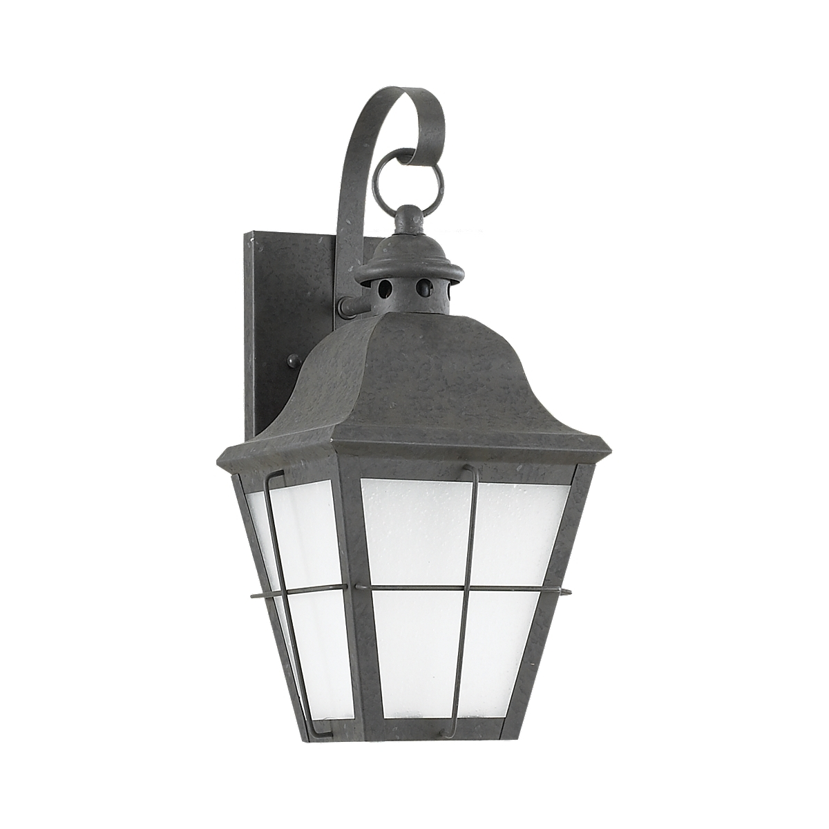 Sea Gull 89062BLE-46 Chatham 1 Light 15 inch Oxidized Bronze Outdoor Wall Lantern in No Photocell, Energy Efficient photo