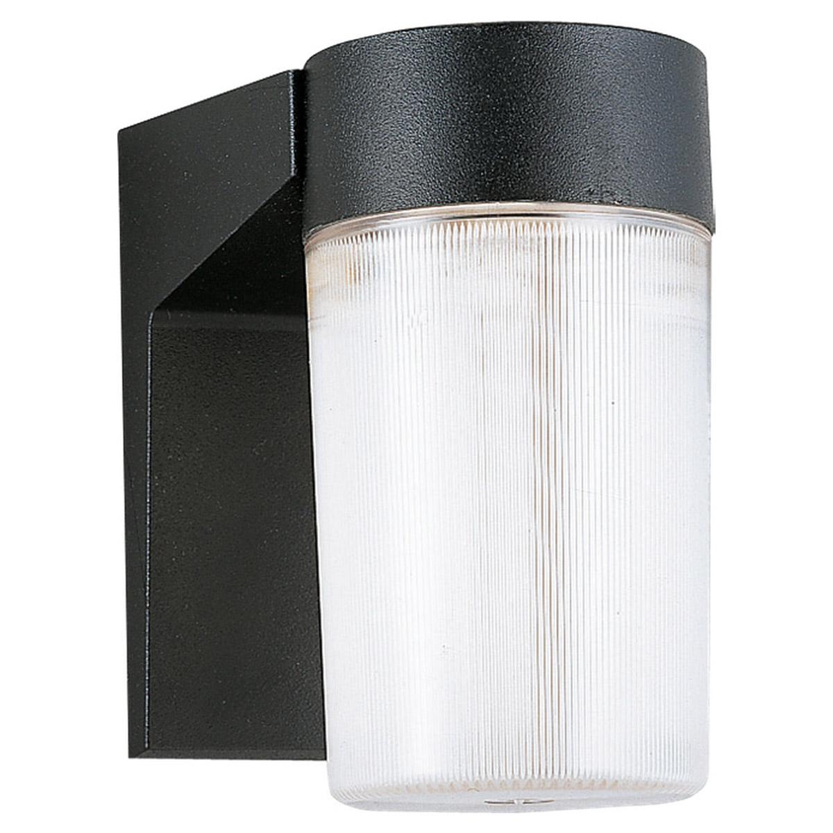 Sea Gull Lighting Signature 2 Light Outdoor Wall Lantern in Black 8907-12 photo