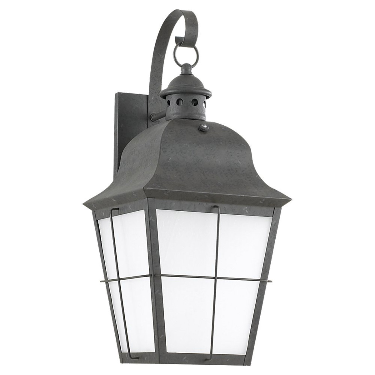 Sea Gull Lighting Chatham 1 Light Outdoor Wall Lantern in Oxidized Bronze 89273BLE-46