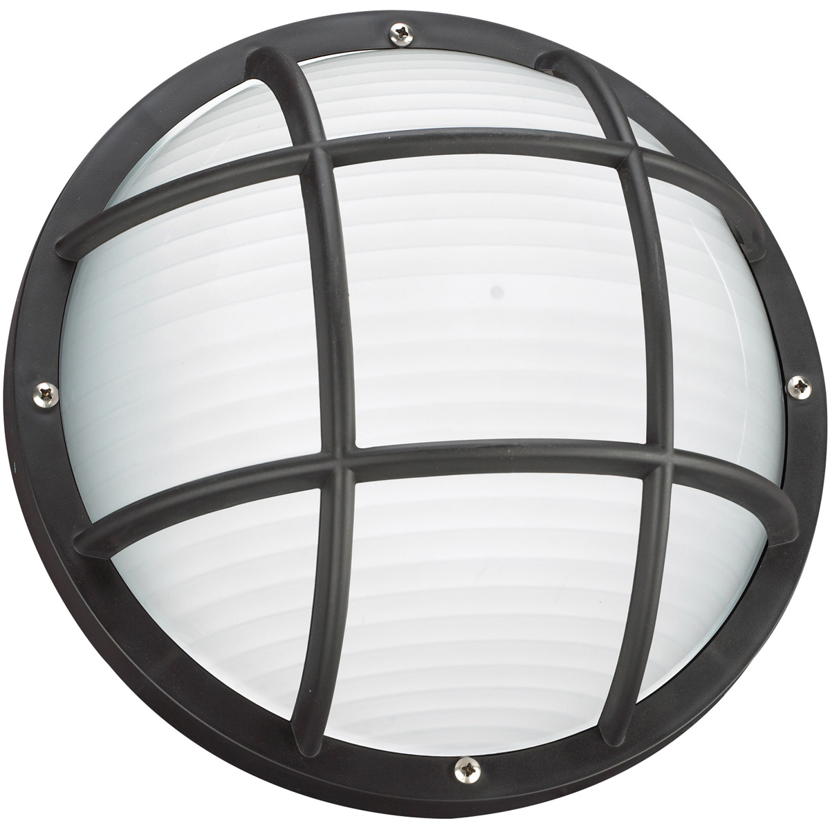 Sea Gull 89807BLE-12 Bayside 1 Light 5 inch Black Outdoor Wall Lantern photo