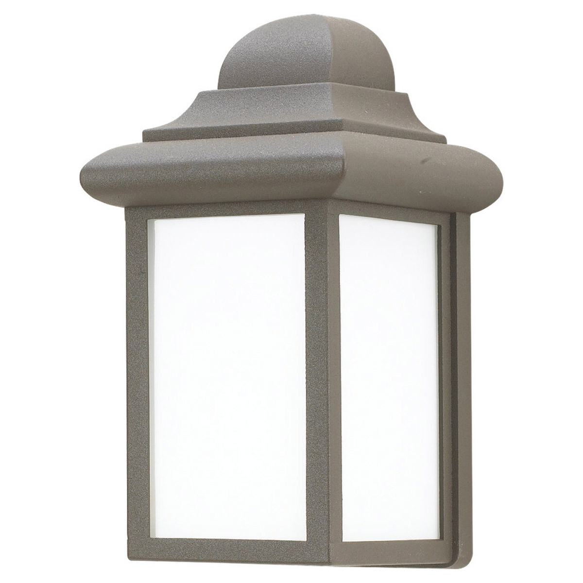 Sea Gull Lighting Mullberry Hill 1 Light Outdoor Wall Lantern in Bronze 8988PBLE-10 photo