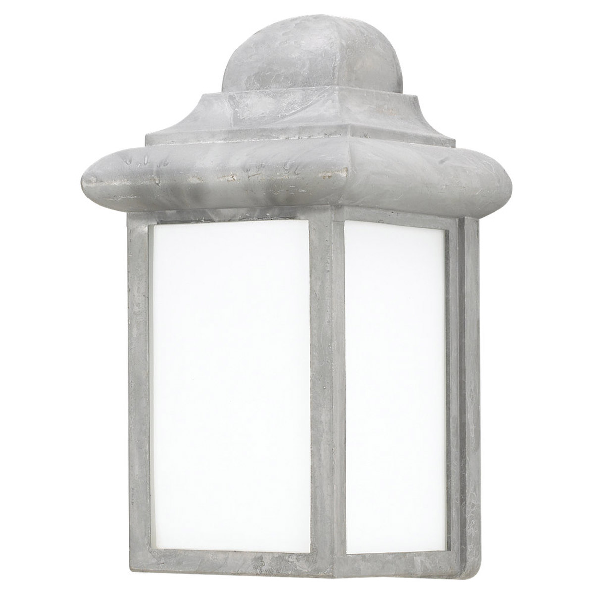 Sea Gull Lighting Mullberry Hill 1 Light Outdoor Wall Lantern in Pewter 8988PBLE-155