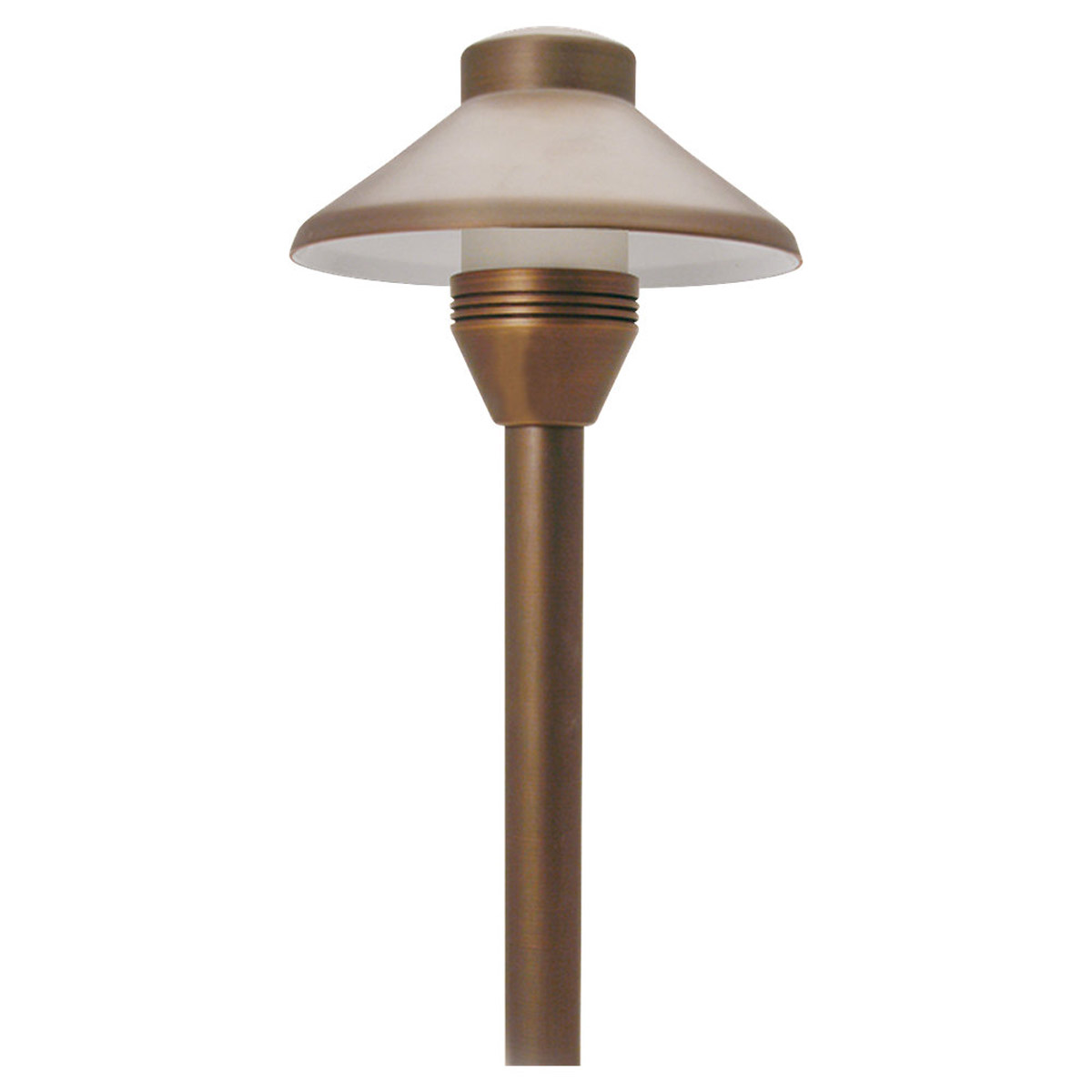 Sea Gull Lighting Imperial 1 Light Landscape Path Light in Weathered Brass 91220-147 photo