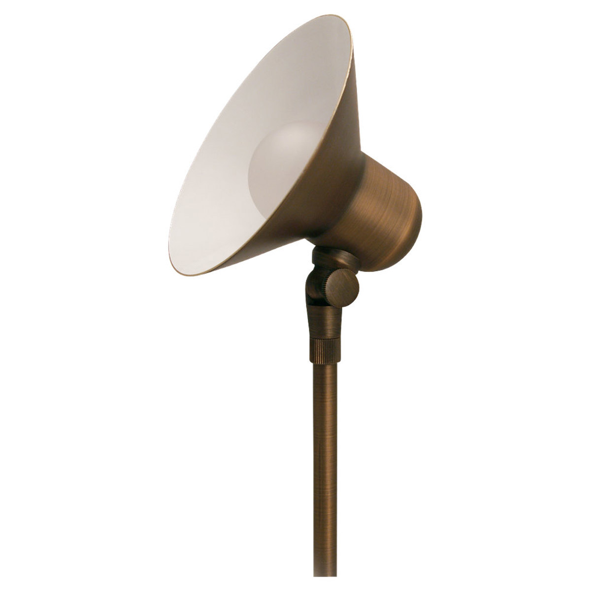 Sea Gull Lighting Imperial 1 Light Landscape Path Light in Weathered Brass 91221-147 photo