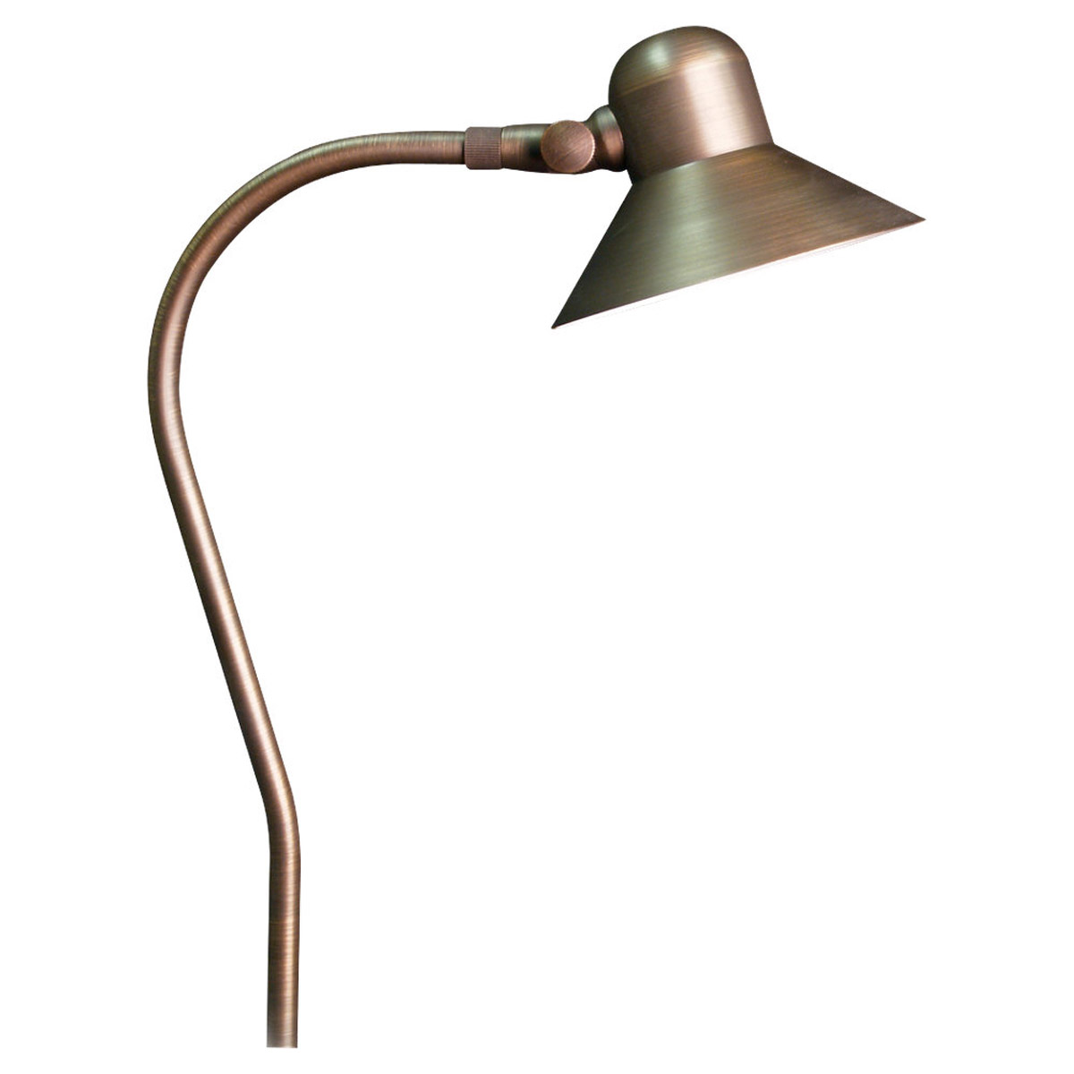 Sea Gull Lighting Imperial 1 Light Landscape Path Light in Weathered Brass 91227-147 photo