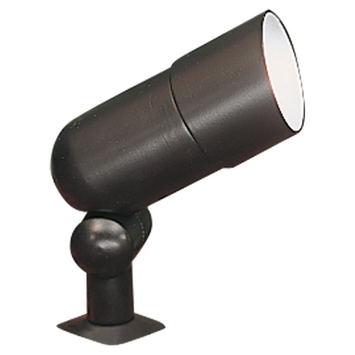 Sea Gull Lighting Landscape Lighting 120 Volt Die-Cast Landscape Accent Light in Black 9312-12 photo