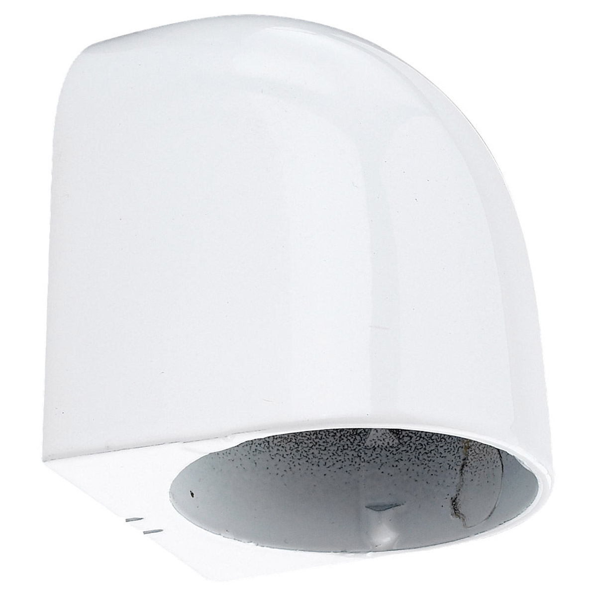 Sea Gull Lighting 2 Light Deck, Rail, Wall Downlight in White 9396-15