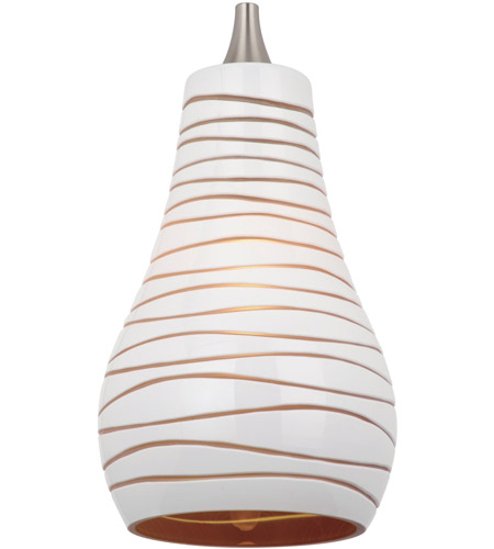 Sea Gull 94375-6135 Ambiance Transitions Cased White/Amber w/Engraved Pattern Pendant Glass/Shade photo