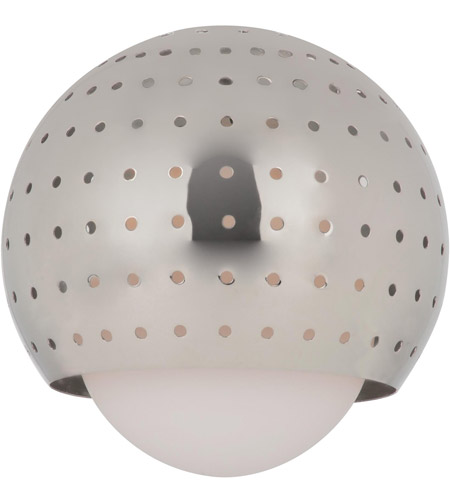 Sea Gull Lighting Ambiance Transitions Space Ball Pendant Glass in Polished Nickel 94380-841 photo