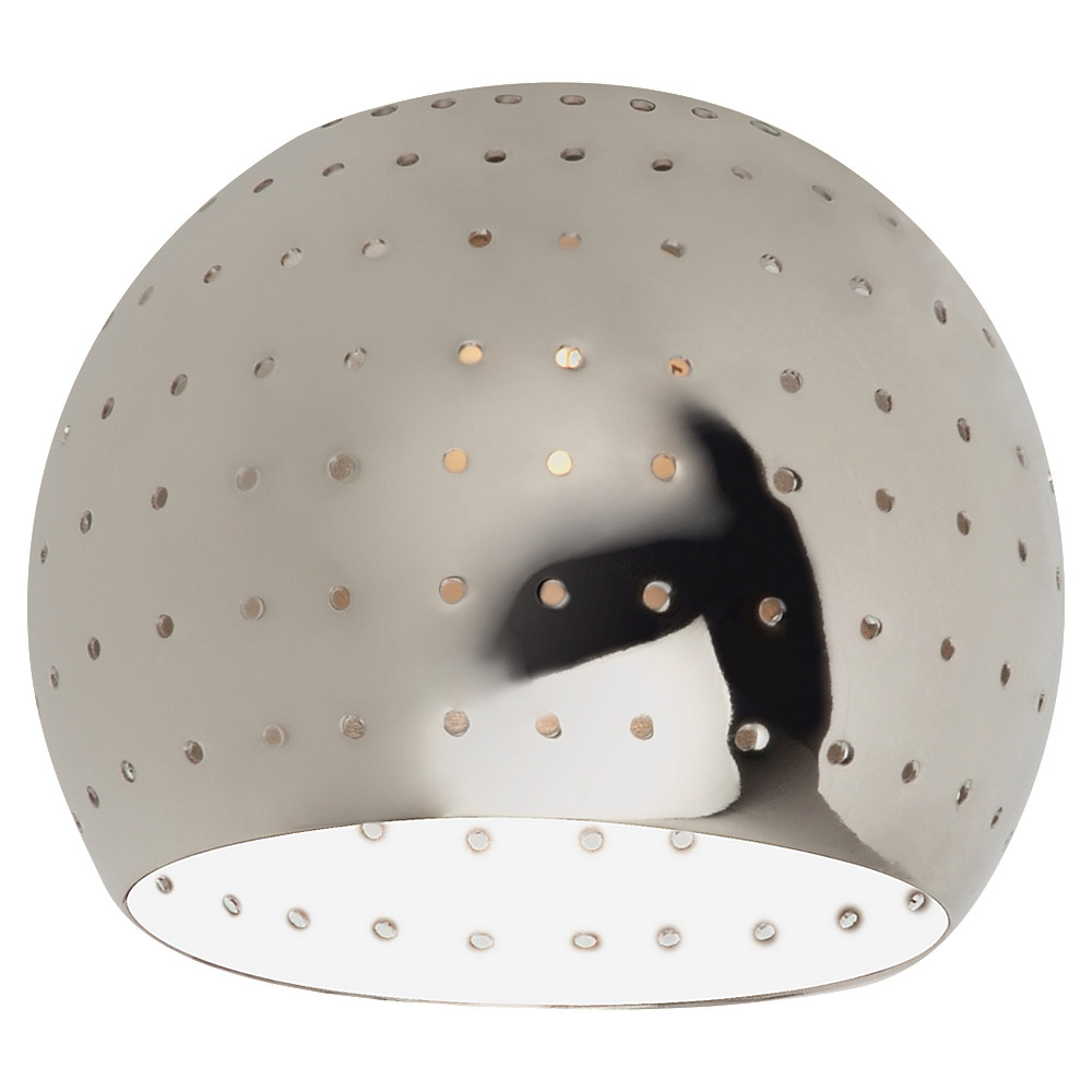 Sea Gull Lighting Ambiance Transitions Space Ball Directional Shade in Polished Nickel 94388-841 photo