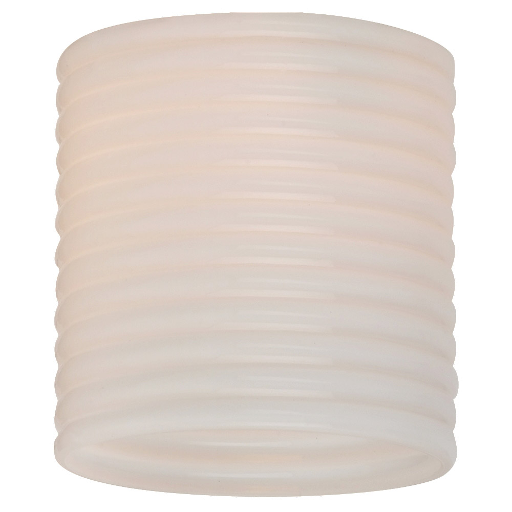 Sea Gull Lighting Ambiance Transitions Conner Directional Glass in Cased Opal Ribbed 94393-6125 photo