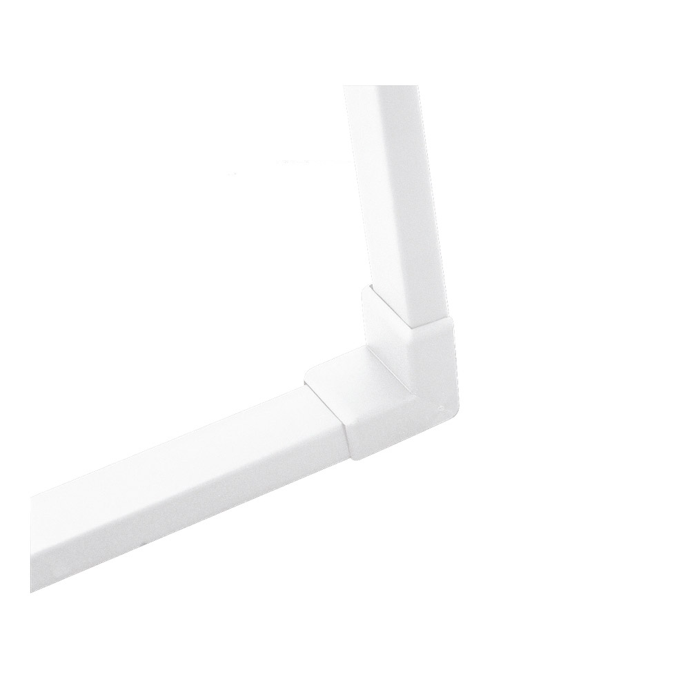 Ceiling Light Cable Cover : Sea gull lighting ambiance lx cable system track wall to ceiling cover in white