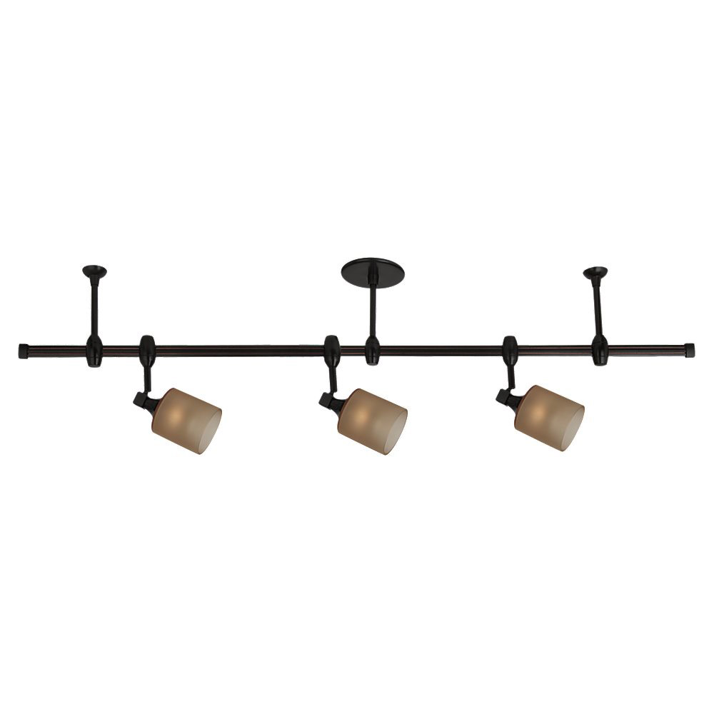 Sea Gull Lighting Ambiance Transitions 3 Light Rail Kit in Antique Bronze 94478-71