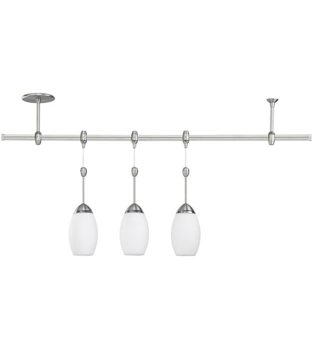Sea Gull Lighting Ambiance Transitions Urban Loft Pendant Rail Kit In Antique Brushed Nickel Opal Cased Etched 94516 965