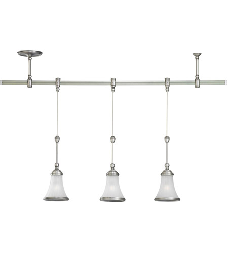 Sea Gull Lighting Ambiance Transitions Torry Pendant Rail Kit in Antique Brushed Nickel / Satin Etched 94518-965 photo