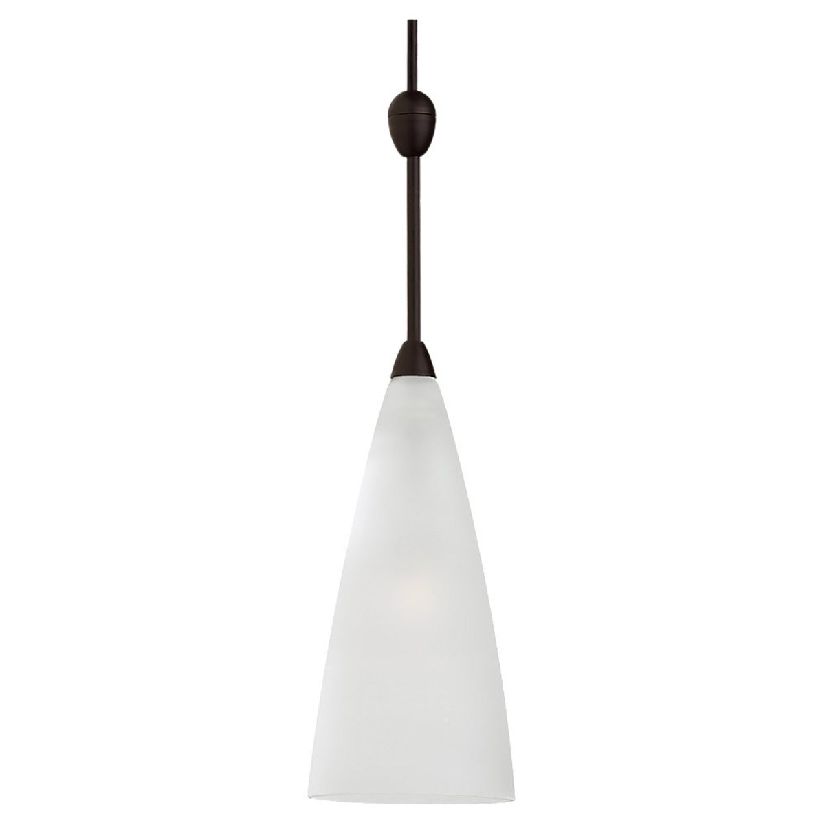 Sea Gull Lighting Ambiance Transitions 1 Light Rail / Ceiling Pendant in Antique Bronze / Satin Etched 94564-71
