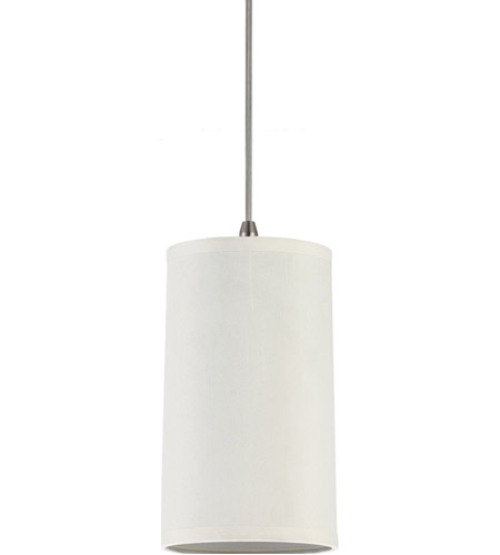 Sea Gull Lighting Jaymes Jaymes Cream Faux Silk Dupion Shade Mini-Pendant in Cream Silk Dupion 94626-992