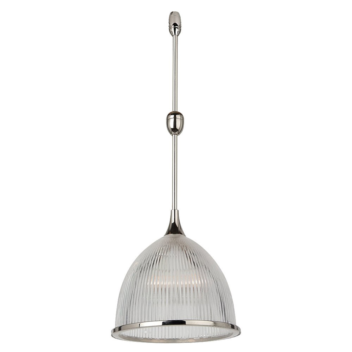 Sea Gull Lighting Ambiance Transitions 1 Light Rail Pendant in Polished Nickel 94687-841