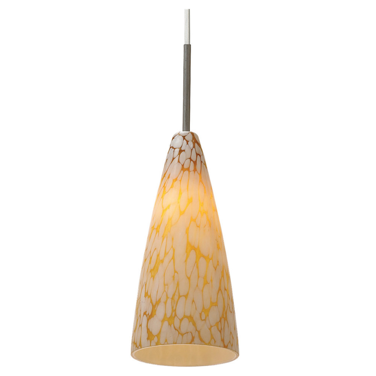 Sea Gull Lighting Ambiance Transitions 1 Light Pendant in Antique Brushed Nickel 94766-6029