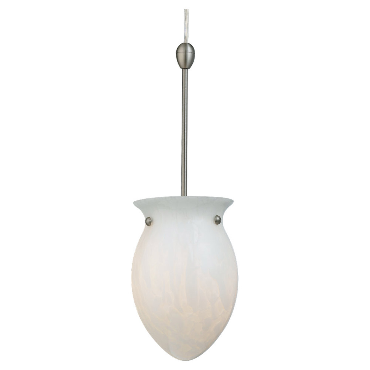 Sea Gull Lighting Carlisle 1 Light Complete Pendant Assembly in Ivory Flake 94965BLE-6039