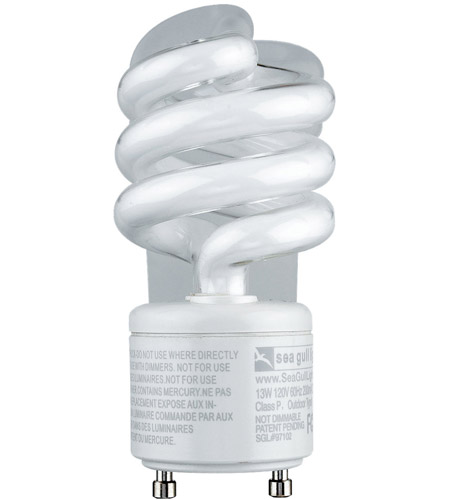 Sea Gull Lighting 13W 120V GU-24 Fluorescent Bulb 97102 photo