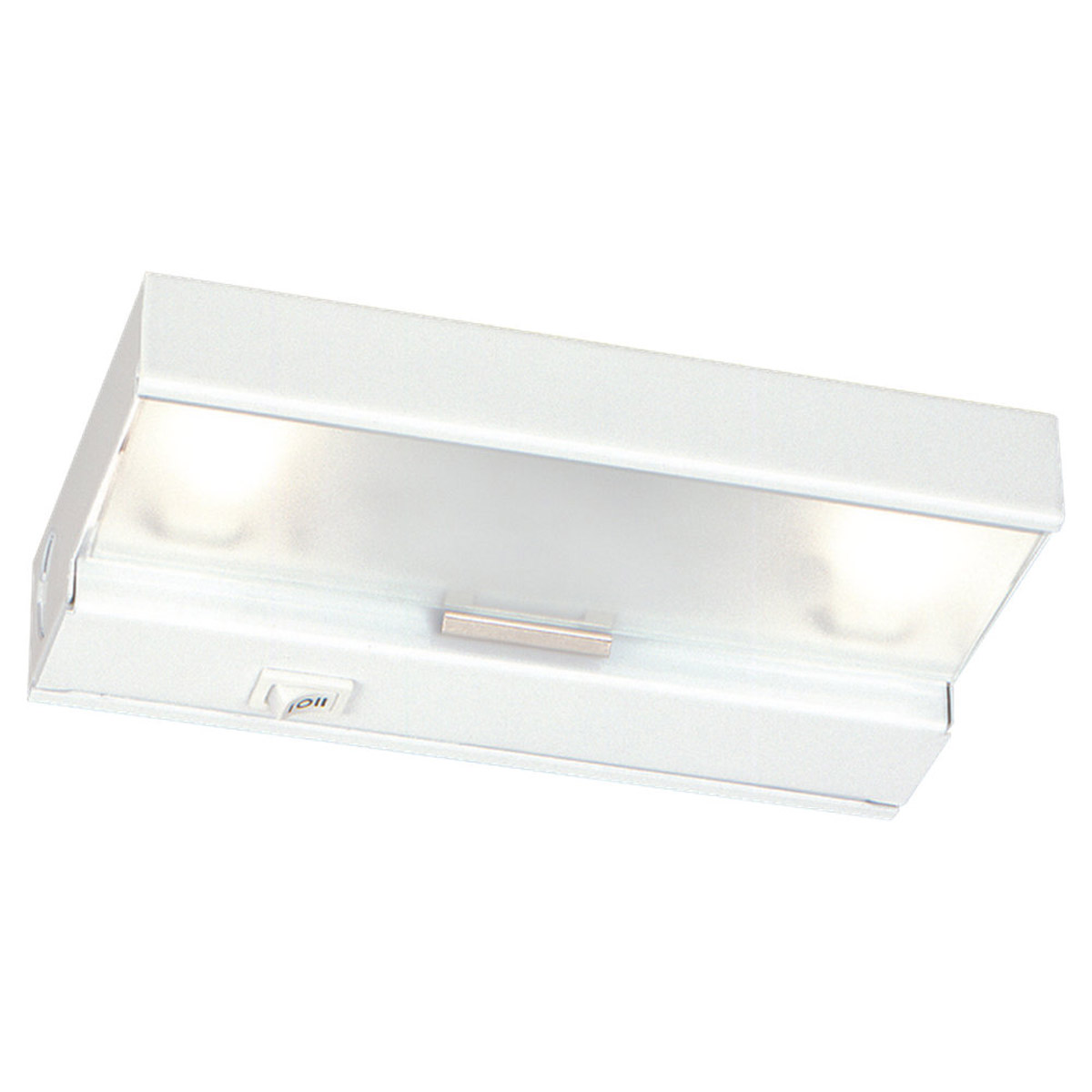 Sea Gull Lighting Undercabinet Lighting 2 Light Undercabinet Xenon in White 98018-15 photo