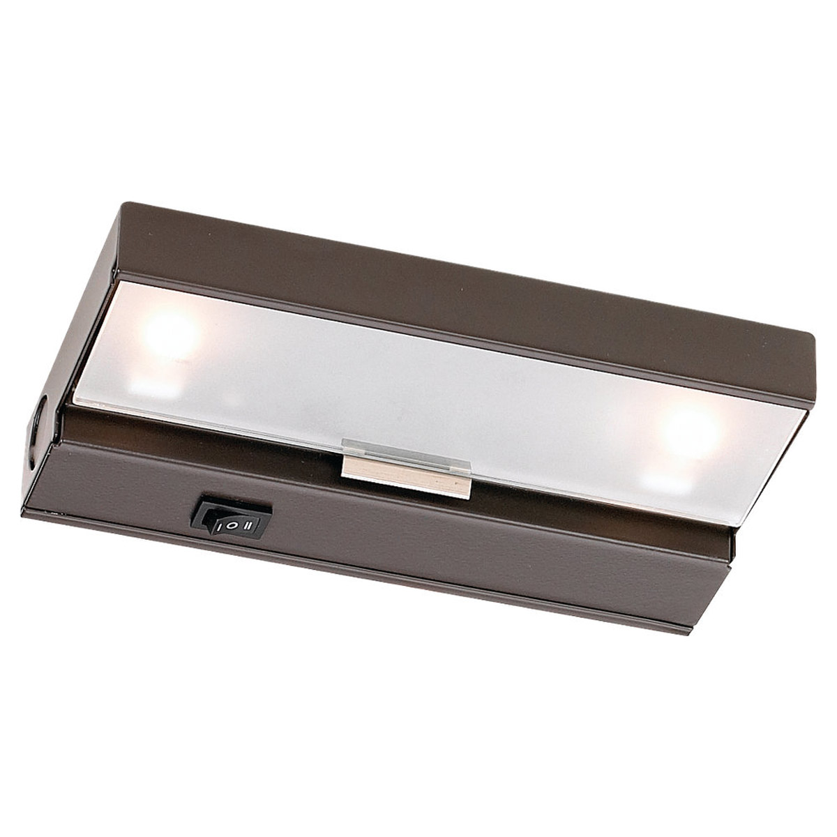 Sea Gull Lighting Undercabinet Lighting 2 Light Undercabinet Xenon in Antique Bronze 98018-71