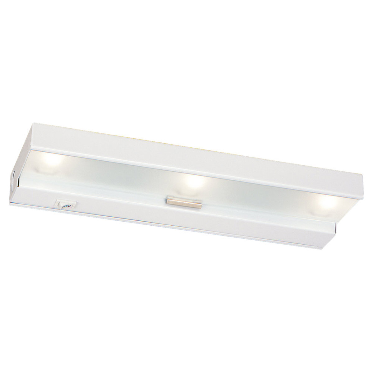 Sea Gull Lighting Undercabinet Lighting 3 Light Undercabinet Xenon in White 98019-15 photo