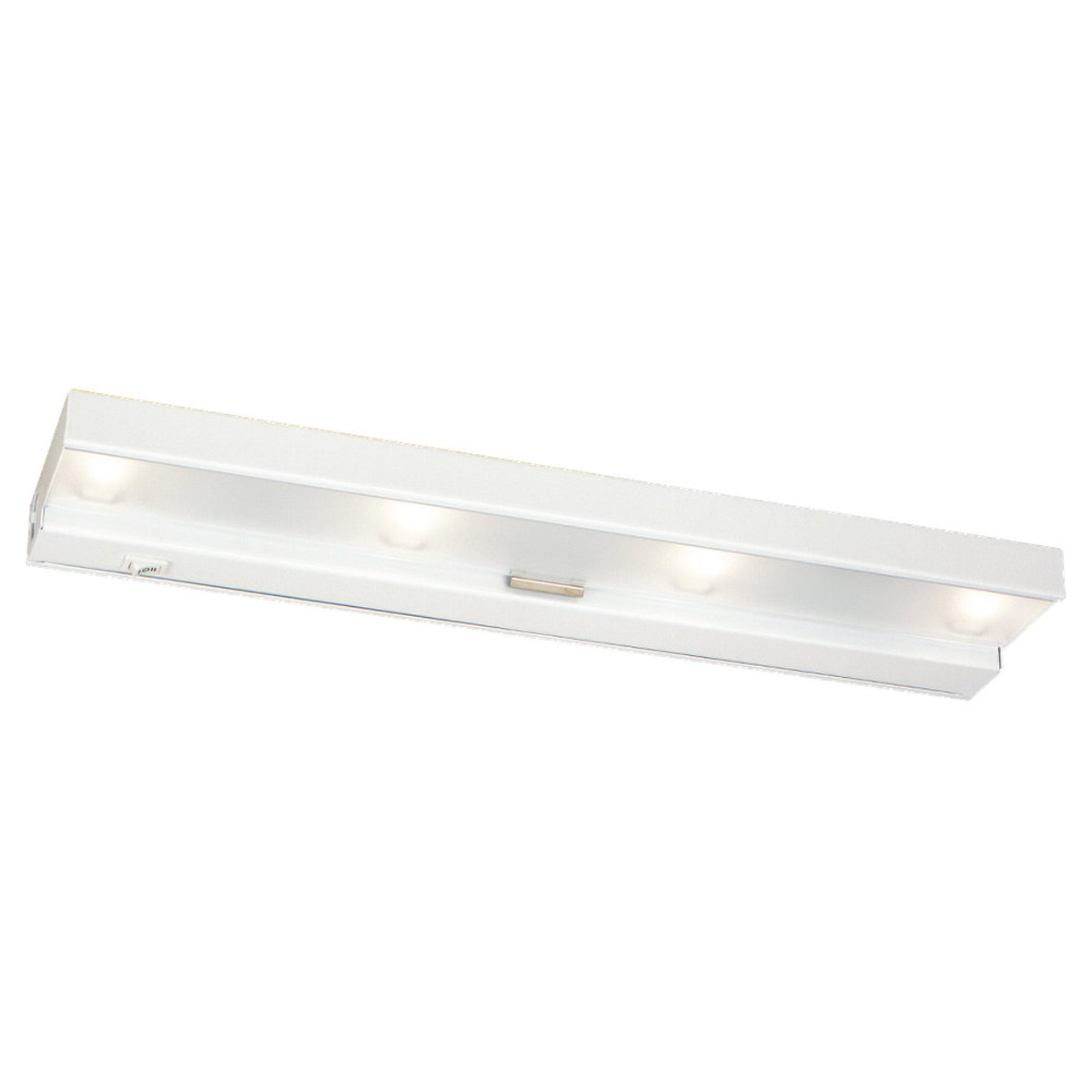 Sea Gull Lighting Undercabinet Lighting 4 Light Undercabinet Xenon in White 98020-15 photo