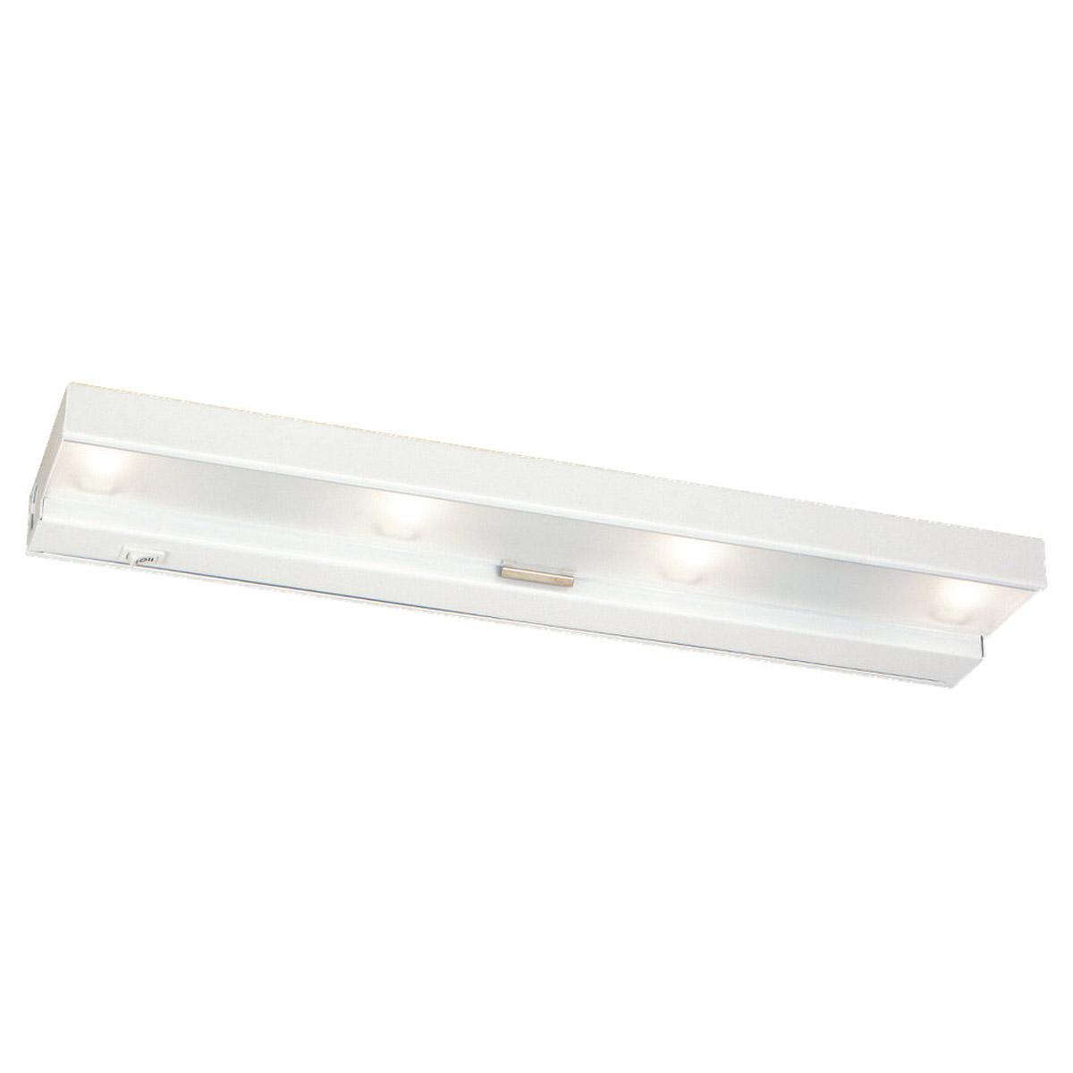 Sea Gull Lighting Undercabinet Lighting 4 Light Undercabinet Xenon in White 98020-15