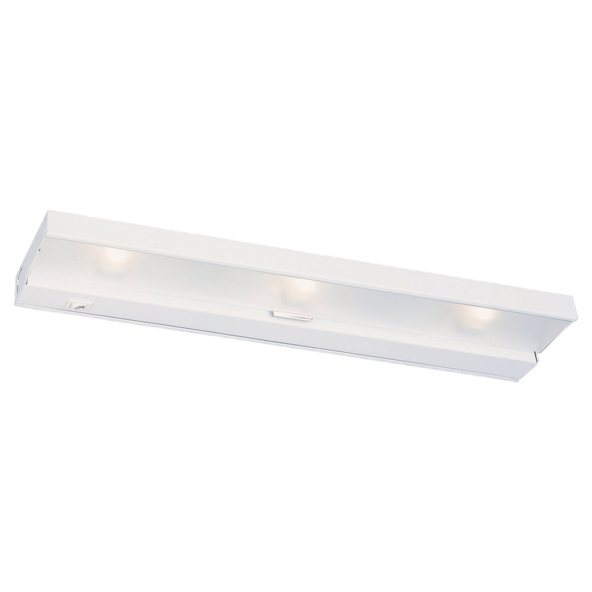 Sea Gull Lighting Undercabinet Lighting 3 Light Undercabinet Halogen in White 98023-15
