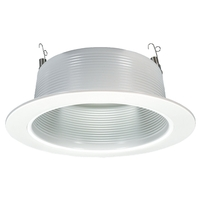 Sea Gull Lighting Signature Recessed Light in White 1129-14 photo thumbnail