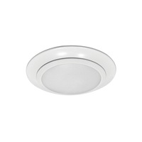 Sea Gull Lighting Traverse 1 Light Flush Mount in White 14800S-15