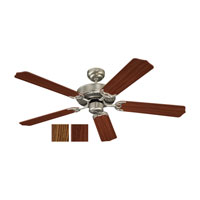 Quality Max 52 inch Brushed Nickel Ceiling Fan in Standard