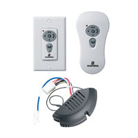 Sea Gull Lighting Ceiling Fan Controler Combo Remote Kit for Fluorescent in White 16007-15
