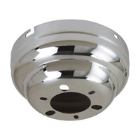 Sea Gull Lighting Signature Flush Mount Ceiling Fan Canopy / Adaptor in Chrome 1631-05