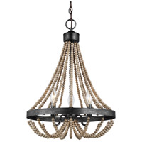 Sea Gull 3101903-872 Oglesby 3 Light 16 inch Washed Pine Chandelier Ceiling Light alternative photo thumbnail