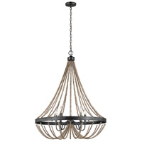 Sea Gull 3101905-872 Oglesby 5 Light 29 inch Washed Pine Chandelier Ceiling Light