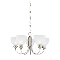 Sea Gull 31036-962 Metropolis 5 Light 26 inch Brushed Nickel Chandelier Ceiling Light alternative photo thumbnail