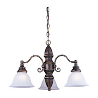 Sea Gull Lighting Canterbury 3 Light Chandelier in Antique Bronze 31050-71