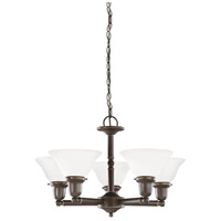 Sussex 5 Light 24 inch Heirloom Bronze Chandelier Ceiling Light