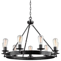 Ravenwood Manor 9 Light 31 inch Stardust Chandelier Ceiling Light
