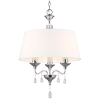 Sea Gull West Town 3 Light Chandelier in Chrome 3110503BLE-05