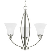 Sea Gull Metcalf 3 Light Chandelier in Brushed Nickel 3113203BLE-962