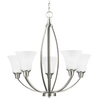 Metcalf 5 Light 26 inch Brushed Nickel Chandelier Ceiling Light in Fluorescent