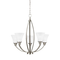Metcalf 5 Light 26 inch Brushed Nickel Chandelier Ceiling Light