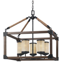 Sea Gull Dunning 5 Light Chandelier in Stardust 3113305BLE-846